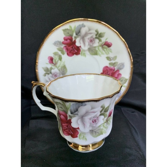 New Queens China Staffordshire Tea Cup